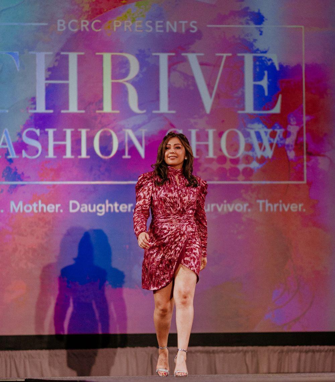 Thrive Fashion Show - Melissa Garcia